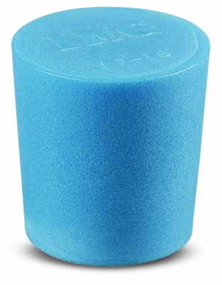 Cole-Parmer™Solid Color-Coded Silicone Stoppers Standard Size 4, Blue Products