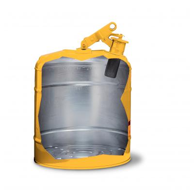 Justrite™Type I Steel Safety Cans Yellow; 2 gal. (7.6L) Justrite™Type I Steel Safety Cans