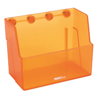 fisherbrand bo te de stockage maglab magbox color translucent orange material abs plastic. Black Bedroom Furniture Sets. Home Design Ideas