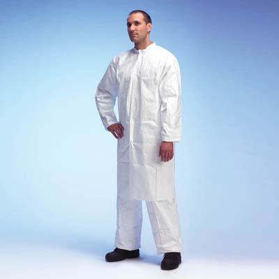 DuPont™ Tyvek 500 lab cot wuth zipper Size: Large DuPont ...