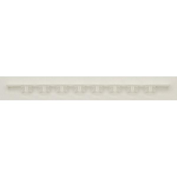 Fisherbrand™Streifen mit 8 flachen und gewölbten Verschlüssen, Streifen mit flachen Verschlüssen Streifen mit flachen Deckeln Fisherbrand™Streifen mit 8 flachen und gewölbten Verschlüssen, Streifen mit flachen Verschlüssen