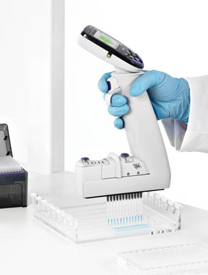 Thermo Scientific™ E1-ClipTip™ Electronic Adjustable Tip Spacing Multichannel Equalizer Pipettes  Products