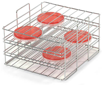 Thermo Scientific™ Sample Racks for Precision™ Water Baths Nalgene Half Test tube Rack - White 20x20mm Thermo Scientific™ Sample Racks for Precision™ Water Baths
