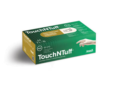 Ansell™ TouchNTuff™ 69-210 Series Natural Rubber Latex Gloves  Products