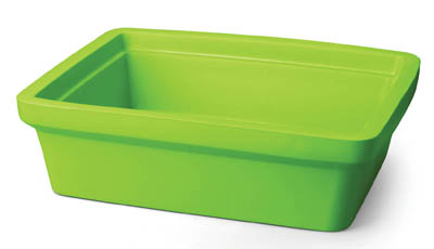Corning bac glace rectangulaire maxi 9 l ice pan rectangular maxi 9l lime green corning for Glace rectangulaire