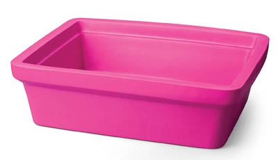 Corning bac glace rectangulaire maxi 9 l ice pan rectangular maxi 9l pink corning bac for Glace rectangulaire