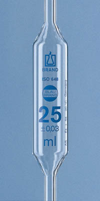 Brand™Blaubrand™ AR-GLAS™ 2-Mark Bulb Pipets Capacity: 15mL Products