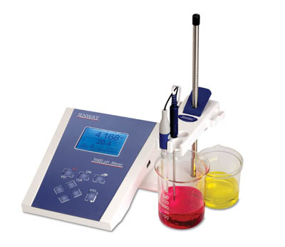 Jenway™ 3520 pH/temp meter with glass combination pH electrode  Benchtop pH Meters