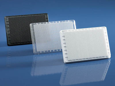 BRAND&trade;&nbsp;BRAND<i>plates</i> cellGrade&trade; 1536-Well, Flat-Bottom Microplate Black  F-bottom products