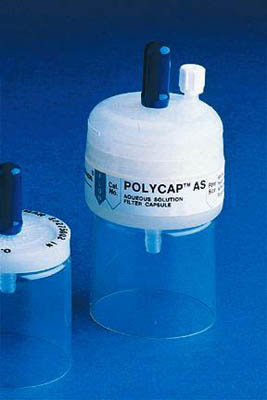 CytivaWhatman™ Polycap Disposable Capsules, 75 AS Polycap AS 75; Pore size: 0.2um; With FNPT inlet and outlet CytivaWhatman™ Polycap Disposable Capsules, 75 AS