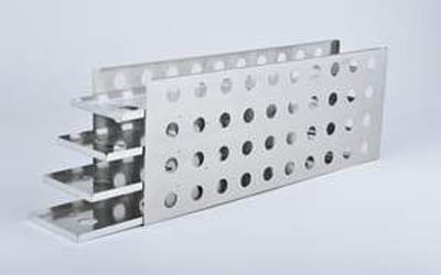 Thermo Scientific™Sliding Drawer Racks for Tubes (5 inner door freezers) For Revco UxF, HERAFreeze HFU-T ULTs, Boxes per Rack: 42, Compatible with Matrix 2D tubes (200uL and 500uL internally-threaded, open top or w/Duraseal) and Nunc Cryobank tubes (500uL) Thermo Scientific™Sliding Drawer Racks for Tubes (5 inner door freezers)
