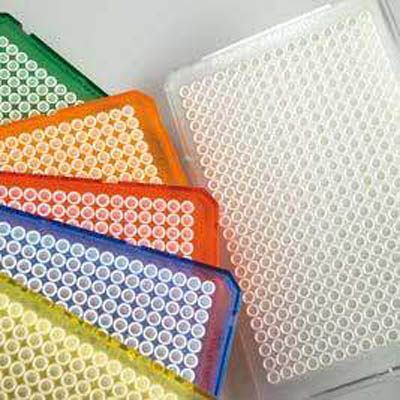 Thermo Scientific™ Armadillo™ 384-Well PCR Plates, Without Barcode Red skirt; White well Thermo Scientific™ Armadillo™ 384-Well PCR Plates, Without Barcode