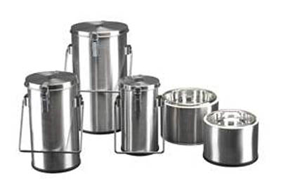 Thermo Scientific™Thermo-Flask™ Benchtop Liquid Nitrogen Containers 4.5L capacity; With lid, handles Thermo Scientific™Thermo-Flask™ Benchtop Liquid Nitrogen Containers