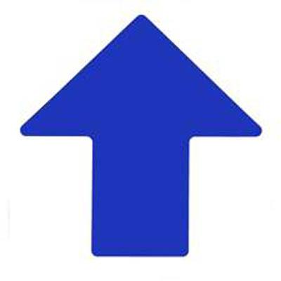 Brady™ ToughStripe™ Floor Arrows Blue