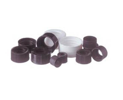 Thermo Scientific™ Open Top Screw Caps for Sample Storage Vials Black; 20-400 Thermo Scientific™ Open Top Screw Caps for Sample Storage Vials