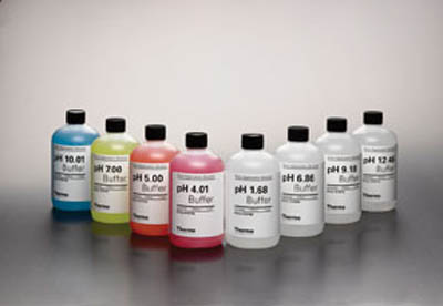 Thermo Scientific™Orion™ pH Buffer Bottles pH 9.18 Buffer, 5 x 60mL Thermo Scientific™Orion™ pH Buffer Bottles