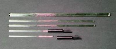 United Scientific SuppliesStirring Rods with Rubber Policeman 10 in. L United Scientific SuppliesStirring Rods with Rubber Policeman
