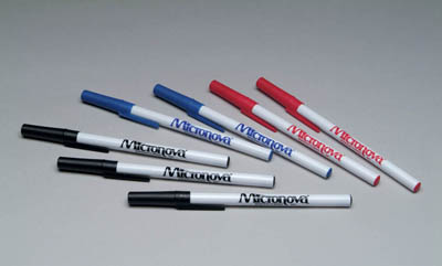 Micronova™ Cleanroom Pens Cleanroom Pen, ball-point pen low sodium Ink, black Micronova™ Cleanroom Pens