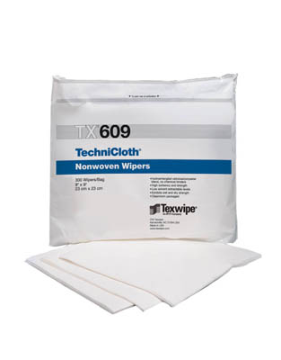Texwipe™TechniCloth™ Nonwoven Dry Wipers, ISO Class 6/7 9 x 9 in. Texwipe™TechniCloth™ Nonwoven Dry Wipers, ISO Class 6/7