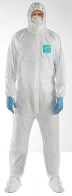 Ansell Edmont™Microgard™ 2000 Ts Plus Coveralls with Hood Large Products
