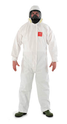 Ansell Edmont™Microgard™ 2500  Plus Coveralls with Hood X-Large Products