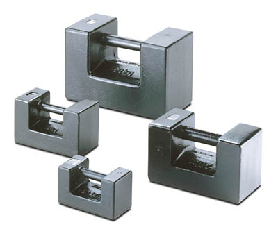 Sartorius™Stainless Steel OIML Class M1 Block Weight Without DKD Calibration Certificate Mass: 50kg Calibration Weights