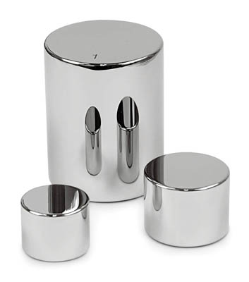 Sartorius™ Stainless Steel F1 Cylindrical Calibration Weight Mass: 10kg Sartorius™ Stainless Steel F1 Cylindrical Calibration Weight